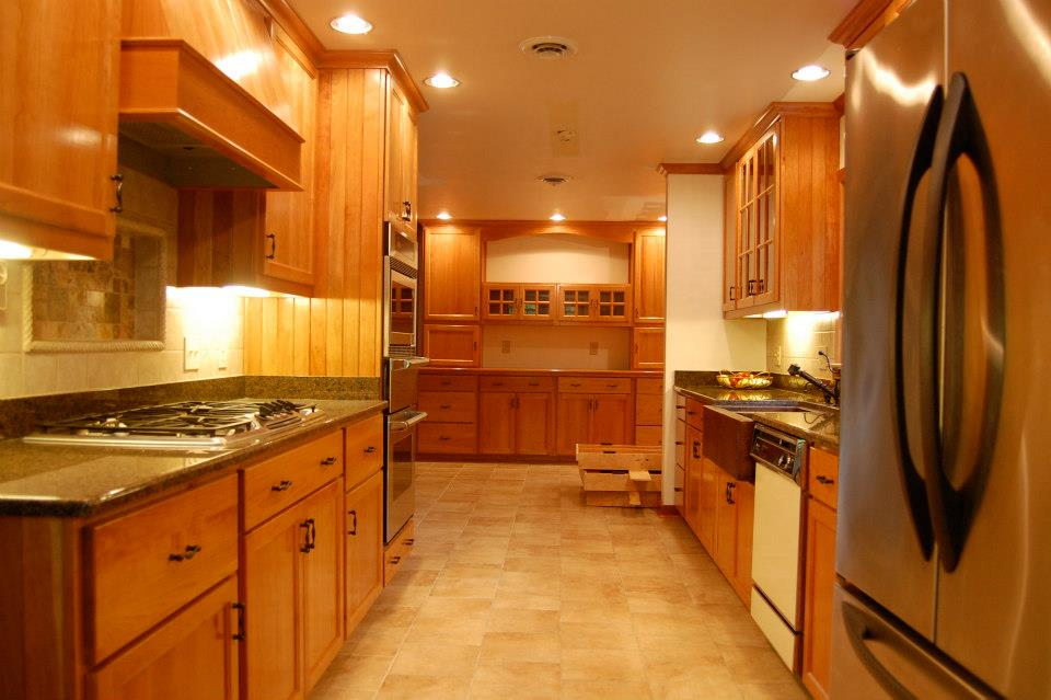Natural Cherry Kitchens