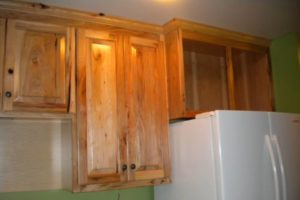 Natural Hickory Kitchen Cabinets